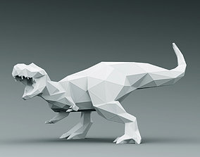 3D PRINTED MODEL T-REX-ABSTRACT-DESIGN-POSE printing
