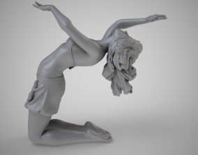 Dancer Backbend 3D printable model