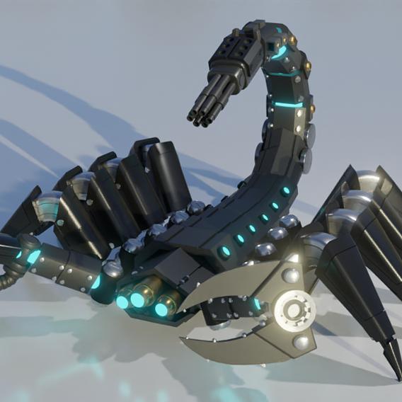 Scorpion Mech
