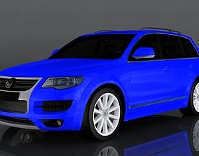 Volkswagen Touareg 3D model low-poly