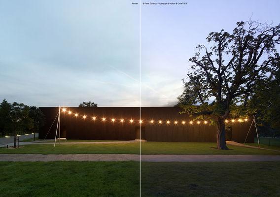 Serpentine Pavilion - Peter Zumthor