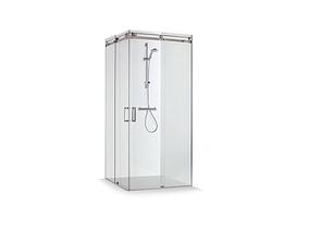 Big glass Shower cabin New design 3D asset