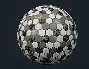 3D model Marble Tile Seamless PBR Texture terrain