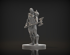 Barbarian Male Character 3D printable model