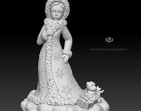 3D print model maiden