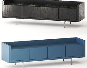 LIAGO B and B Italia sideboard 3D