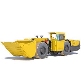 Atlas Copco underground loader Scooptram ST7 3D model 1