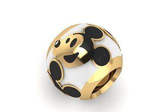3D print model happy mcky mouse charm ball