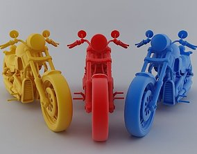 Heavy Bike 3D Model