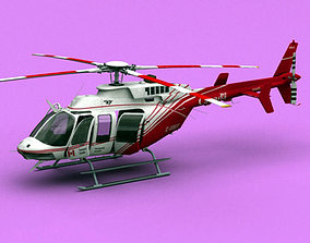 Bell 407 Canadian Ministry of Transport 3D