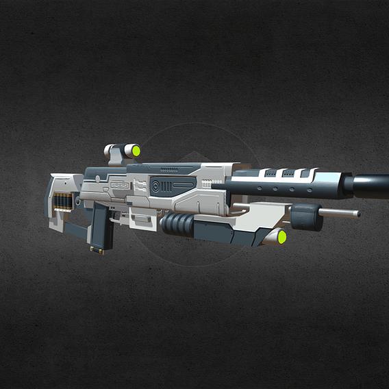 Futuristic Shotgun Design