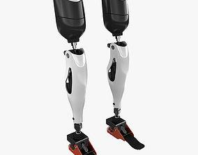 Mechanical Prosthetic Leg 3D