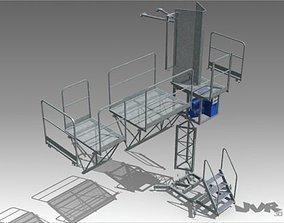 3D model Climbing Work Platform