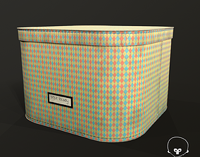3D asset realtime Designer Storage Box - used item