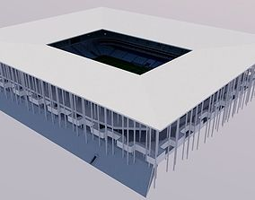 Nouveau Stade de Bordeaux 3D asset