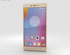 3D model Lenovo K6 Note Gold