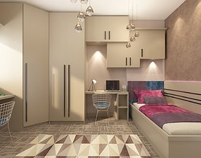 Child Room two person 3D model