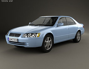 3D model Toyota Camry XV20 1997