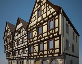 3D model Medieval Houses III