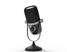 3D printable model Retro radio microphone
