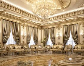 Reception Living area 3D
