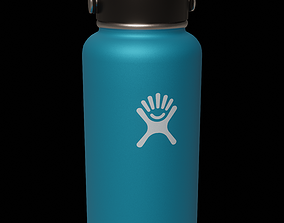 3D asset realtime 32 oz Wide Mouth Hydro Flask