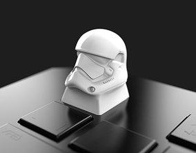 pc StormtrooperHead Keycap 3D print model