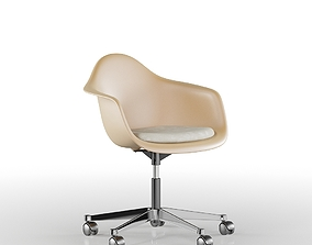 3D model Brown PC Office Eames Chair