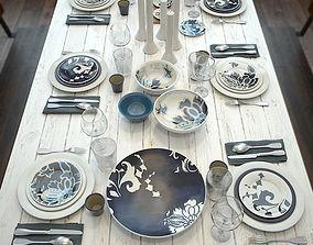 spoon 3D model Table setting