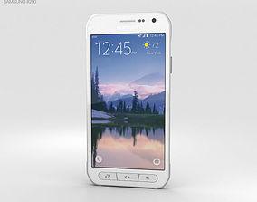 3D Samsung Galaxy S6 Active White