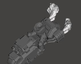 Smoke and Muzzle Flash - Primaris 3D print model 3
