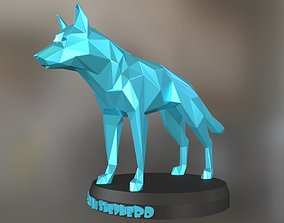 Poly German Shepherd Dog 3D printable model