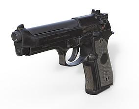 Pistol Beretta M9 3D model