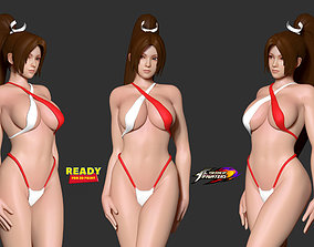 3D print model Mai in bikini