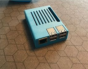 laptop 3D print model Raspberry Pi 3 B-plus case