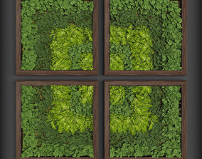 Vertical gardening 08 3D model