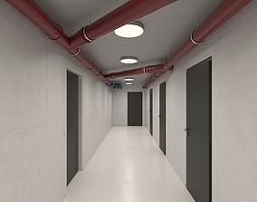 Basement Hallway 3D