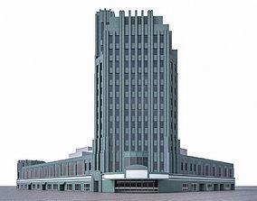 Pellissier Building and Wiltern Theatre 3D model