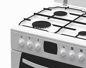White Cooker hot 3D