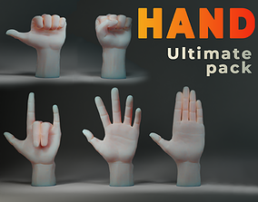 Hand IMM Brush 3D model