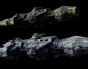 3D Corellian Gunship DP20