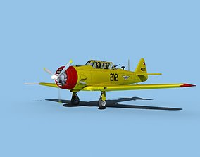 North American AT-6 Texan V15 Philippine 3D
