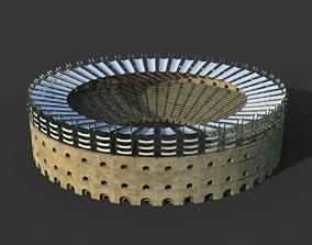Gladiator Arena historic 3D asset