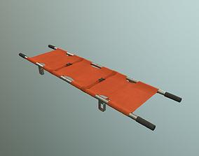 stretcher 3D asset