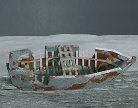 Ship Wreck 3D model