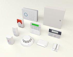 3D model alarm components