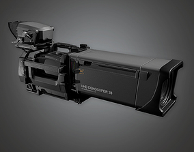 Production Camera 01a HLW - PBR Game Ready 3D asset