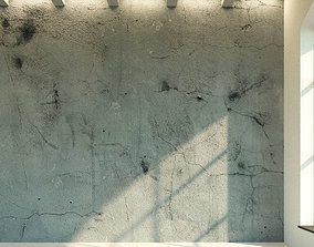 3D asset Concrete wall Old concrete 5