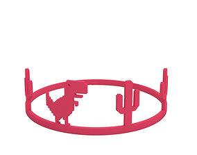 dino 3D print model Bracelet