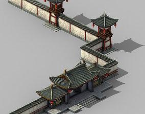 3D model Tang Chang an City - Barracks 11